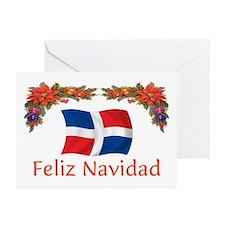Dominican Feliz Navidad 2 Greeting Cards (Pk of 10