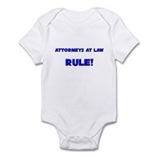Attorneys At Law Rule! Infant Bodysuit