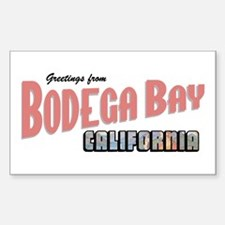 Bodega Bay Rectangle Decal