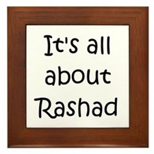 Cool Rashad Framed Tile