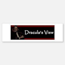 Dracula's View Bumper Bumper Bumper Sticker