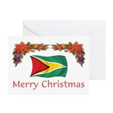 Guyana christmas Greeting Cards (10 Pack)