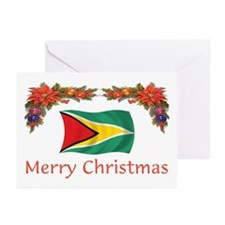 Guyana-Merry Christmas Greeting Cards (Pk of 10)