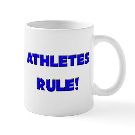 Athletes Rule! Mug