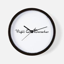 Night Elf Berserker Wall Clock