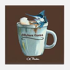 Offshore Cocoa Tile Coaster