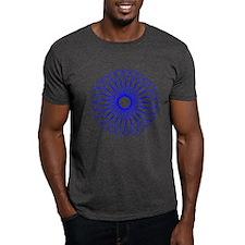 Blue Spirograph T-Shirt