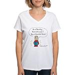 Reading Revolutionary Women's V-Neck T-Shirt