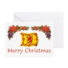 Scottish Merry Christmas 2 Greeting Cards (Pk of 1