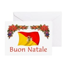 Sicily Buon Natale Greeting Cards (Pk of 10)