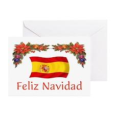 Spain Feliz...2 Greeting Cards (Pk of 10)