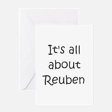 Funny Reuben Greeting Card