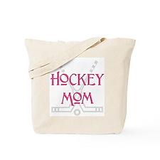 Hockey Mom Pink Tote Bag