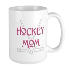 Hockey Mom Pink Mug