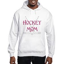 Hockey Mom Pink Hoodie