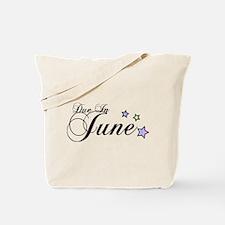 3 Rainbow Stars Due June Tote Bag