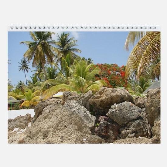 2015 Scenes From Paradise Wall Calendar