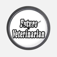 """Future Veterinarian"" Wall Clock"
