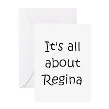 Cute Regina Greeting Card