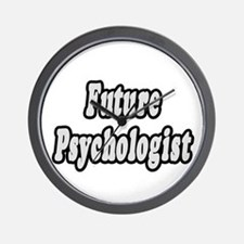 """Future Psychologist"" Wall Clock"