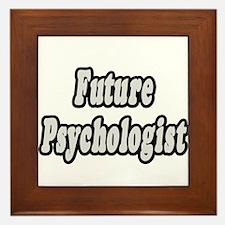 """""""Future Psychologist"""" Framed Tile"""