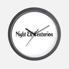 Night Elf Centurion Wall Clock