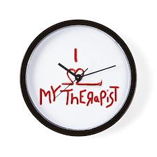 my therapist Wall Clock