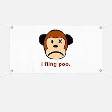 Monkey Poo Banner