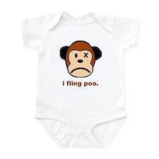 Monkey Poo Infant Bodysuit