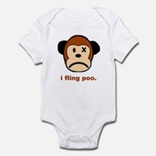 Monkey Poo Infant Bodysuit