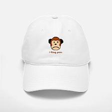 Monkey Poo Baseball Baseball Cap
