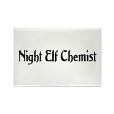 Night Elf Chemist Rectangle Magnet