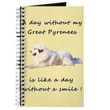 Great Pyrenees Journal creme