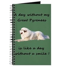 Great Pyrenees Journal green