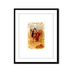 Pilgrims Framed Panel Print