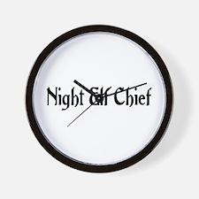 Night Elf Chief Wall Clock