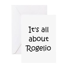 Funny Rogelio Greeting Card