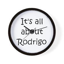 Funny Rodrigo's Wall Clock