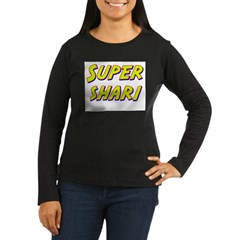 Super shari Women's Long Sleeve Dark T-Shirt