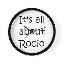 Funny Rocio Wall Clock