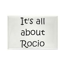 Funny Rocio Rectangle Magnet