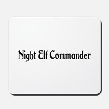 Night Elf Commander Mousepad