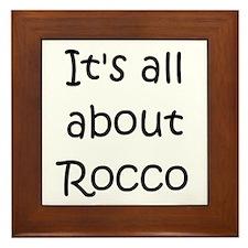 Cool Rocco Framed Tile