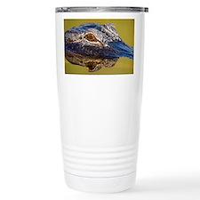Cute American alligator Travel Mug