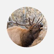 """Cute Elk 3.5"""" Button"""