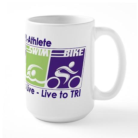 TRI-Athlete Large Mug