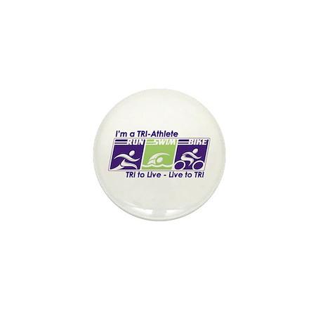 TRI-Athlete Mini Button (100 pack)