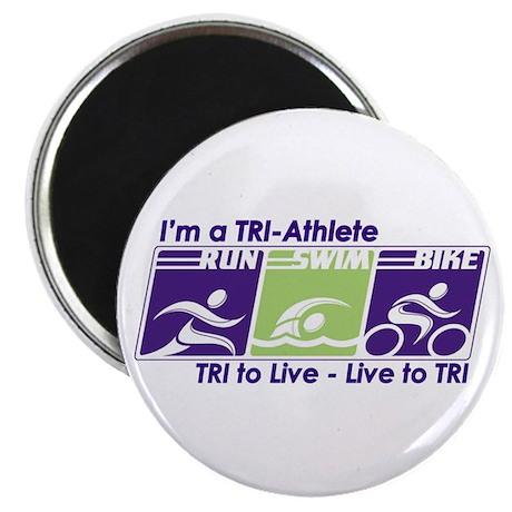 TRI-Athlete Magnet
