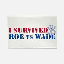 Roe vs Wade (hand) Rectangle Magnet