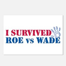 Roe vs Wade (hand) Postcards (Package of 8)